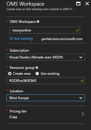 Integrate Office 356 into Microsoft Operations Management Suite (OMS