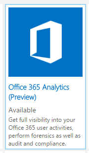 Integrate Office 356 into Microsoft Operations Management Suite (OMS) and publish data to Power BI