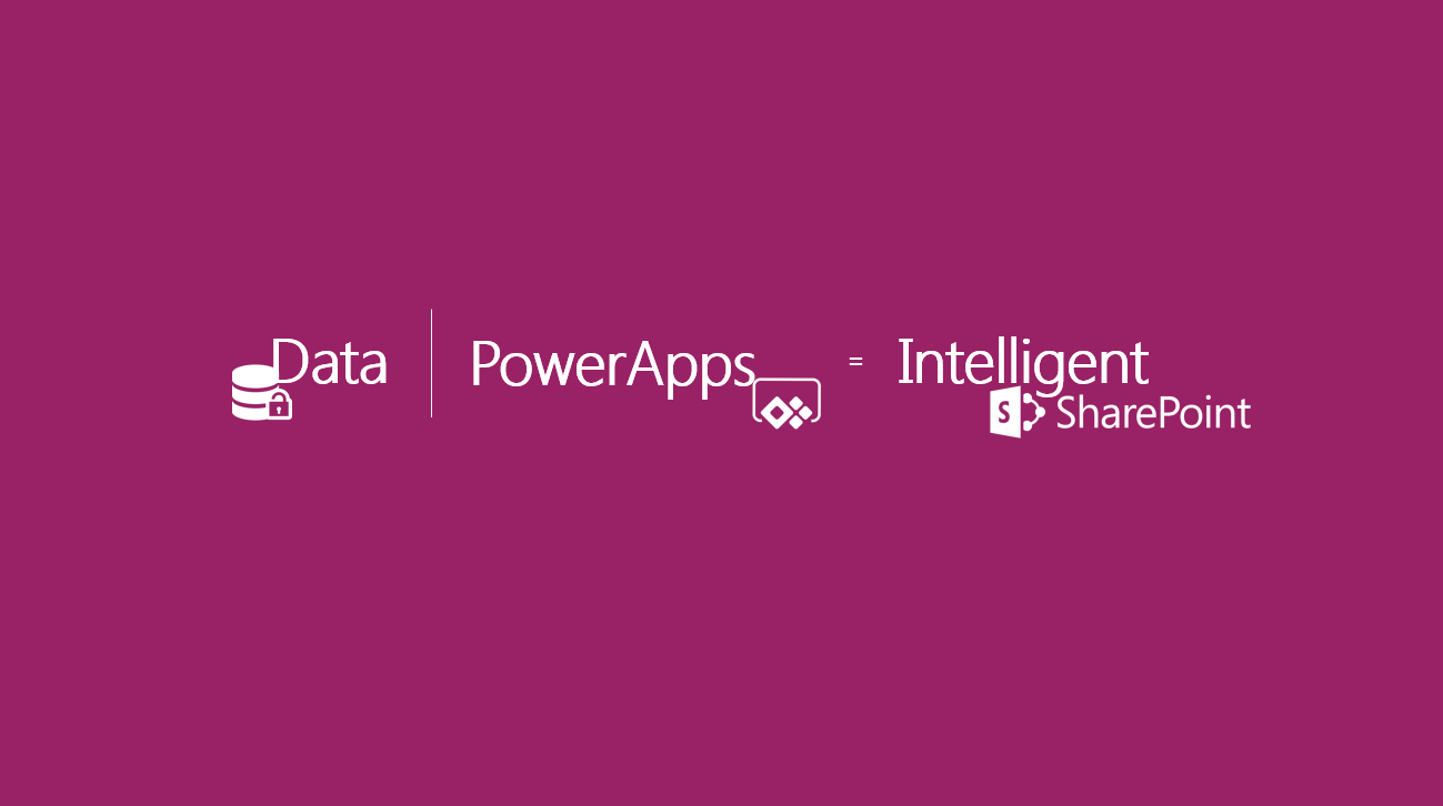 PowerApps + Data = Intelligent SharePoint – Create your first